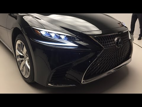 Когда суперкар не понадобится: новый Lexus LS 500 2017 года