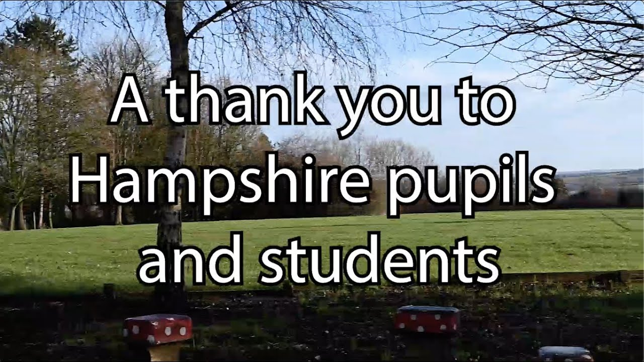 Thanks From Hampshire County Council