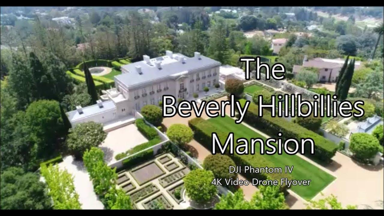 We Found Jed Clampett S Beverly Hillbillies Mansion Dji Phantom Iv Drone Video Youtube