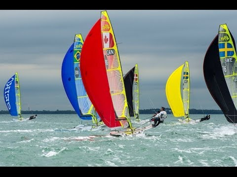 ISAF Sailing World Cup Miami - Day 4 Highlights