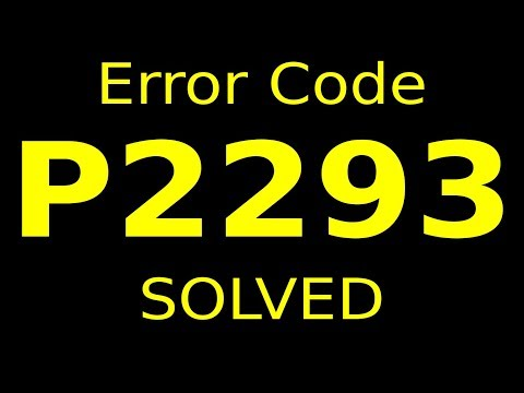 error code P2293 (RESOLVED)