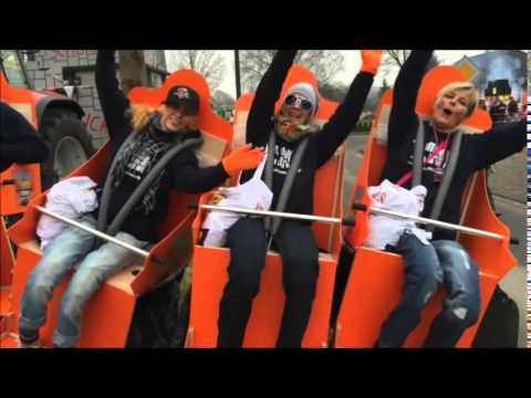 yellotools roller coaster achterbahn kost m karneval 2015 youtube. Black Bedroom Furniture Sets. Home Design Ideas