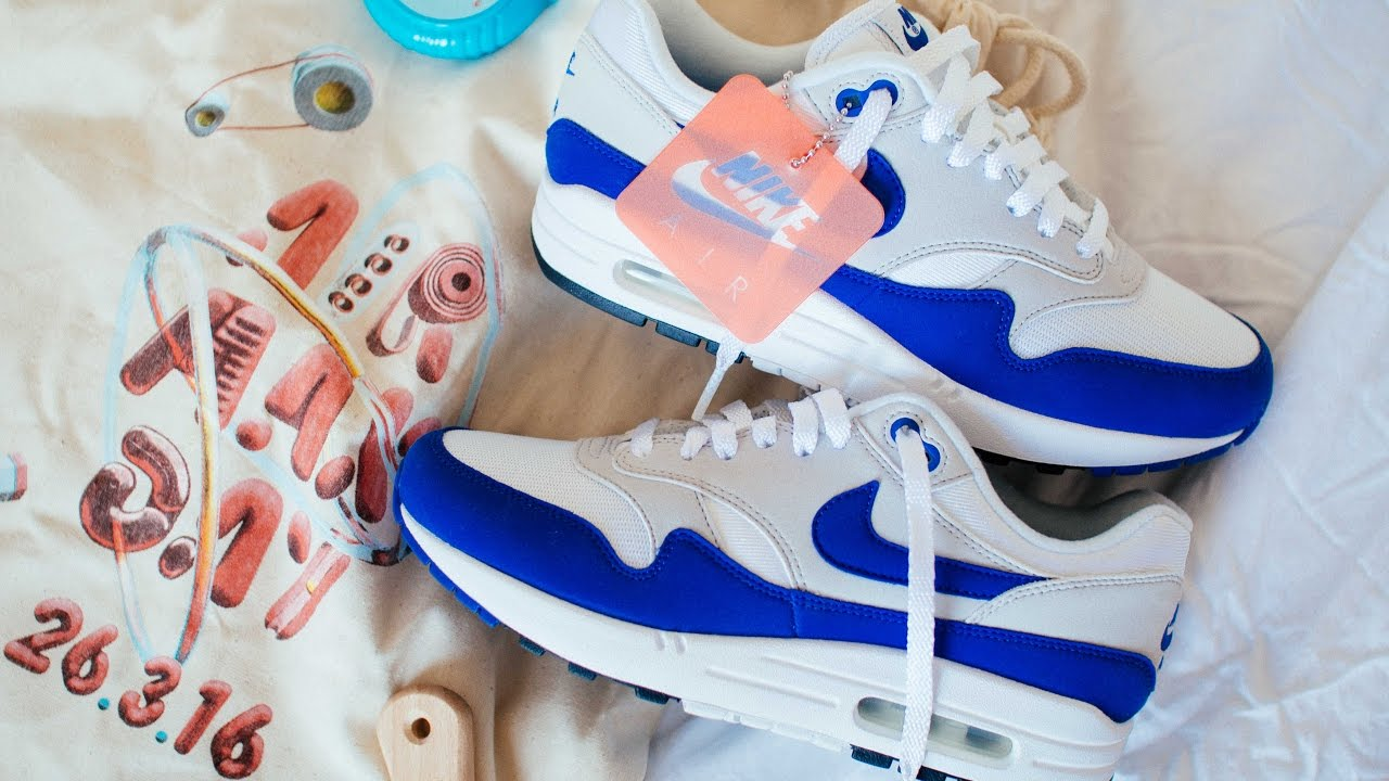 Nike Air Max 1 OG 2017 Royal Blue | The Sole Supplier