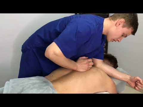 Как делать массаж шеи при остеохондрозе: рекомендуемые
