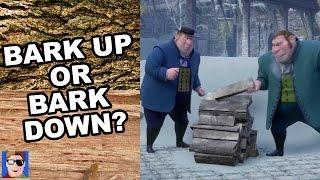 Frozen's Wood Stacking Scene Explained