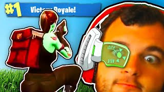 The Weirdest Way To Play Fortnite.... (don't look at the thicc skins)