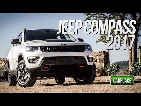 Novo Jeep Compass Trailhawk 2017 - Avaliação  - CARPLACE TV