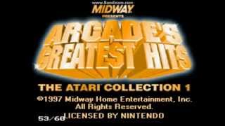 Let's play Arcade's Greatest Hits - Atari Collection 1 on SNES