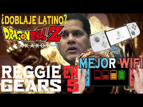 Reggie en Gears 5 - ¿Doblaje latino en Dragon Ball z Kakarot? - Mejor WIFI en Revisión Switch
