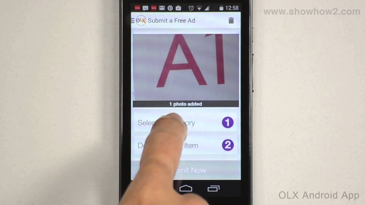 OLX Android App - How To Post An Ad