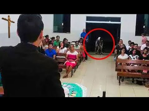 Download This creature mysteriously caught in church then the unexpected things happened