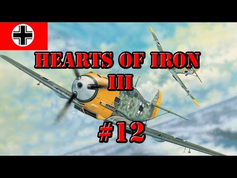 Hearts of Iron 3 | BlackICE 8.5 | Germany | Episode 12 | Operation Weserübung!