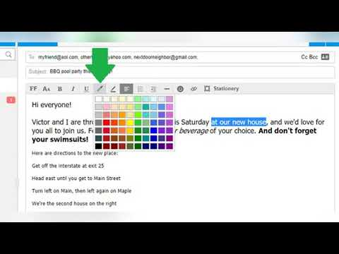 How To Format Emails In AOL Mail