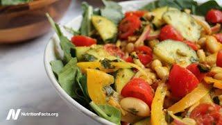 Diabetické společnosti uznávají stravu s rostlinným základem