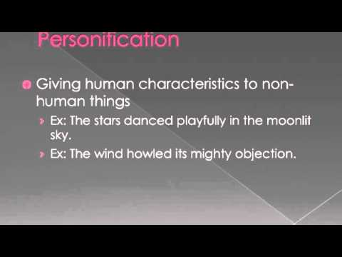 Literary Terms Hyperbole Personification Simile