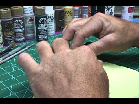 MODEL RAILROAD PAINTING HOW TO MAKE A WHITE CSX CAB.wmv