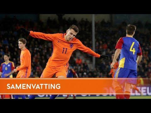Highlights Jong Oranje - Andorra (11/11/2017)