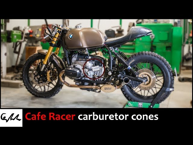 Making a velocity stacks for cafe racer