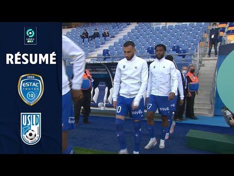 Troyes Dunkerque Goals And Highlights