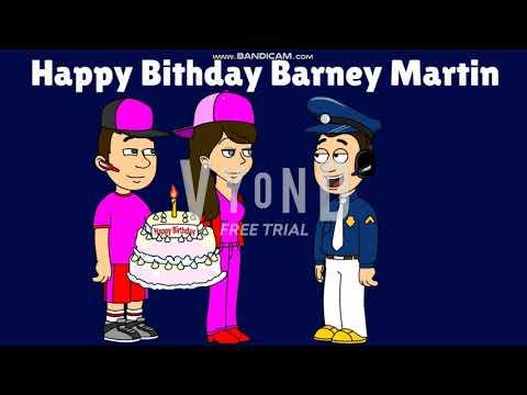Happy Birthday Barney Martin