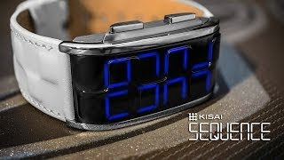 Kisai Sequence LED Watch Design from Tokyoflash Japan