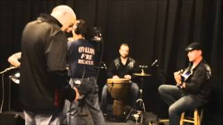 """Revence - Live performance of """"She Lies"""" on St. Louis morning news"""