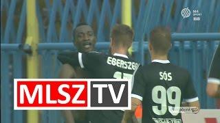 Ulysse Diallo gólja a Gyirmót FC Győr - Mezőkövesd Zsóry FC mérkőzésen