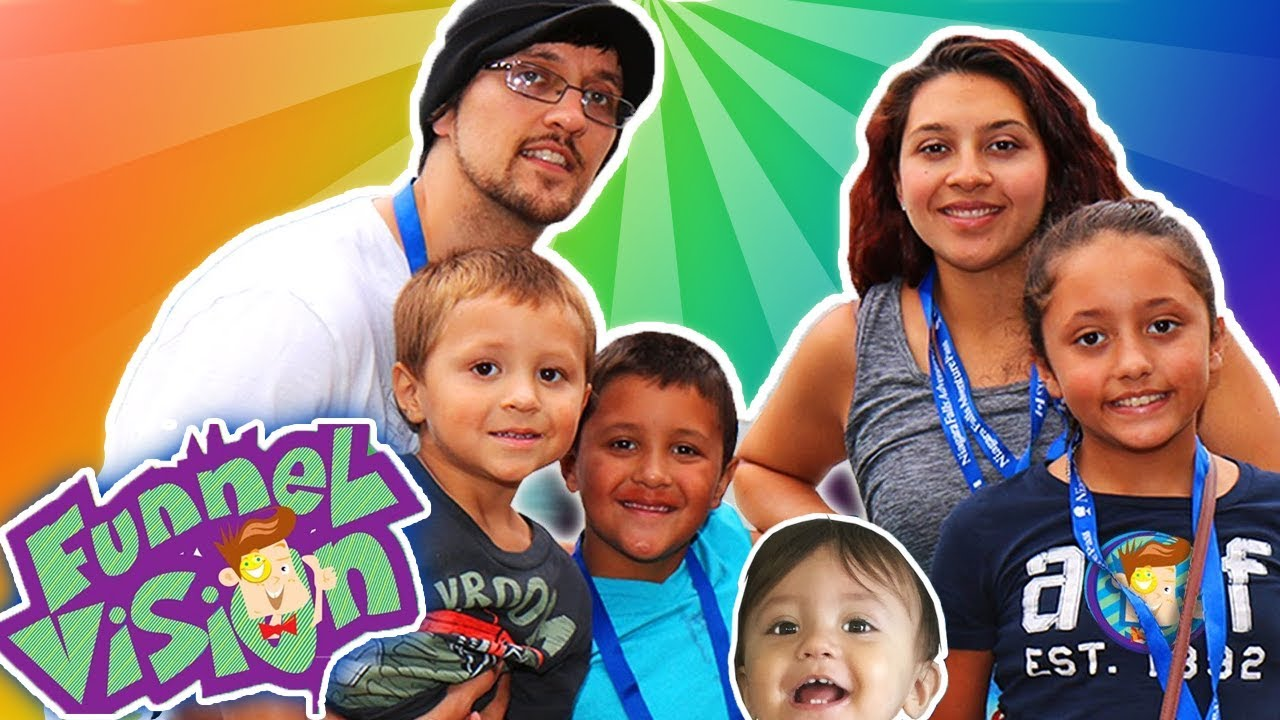 Fgteev | Shaka, Kids |Funnel Vision Logo