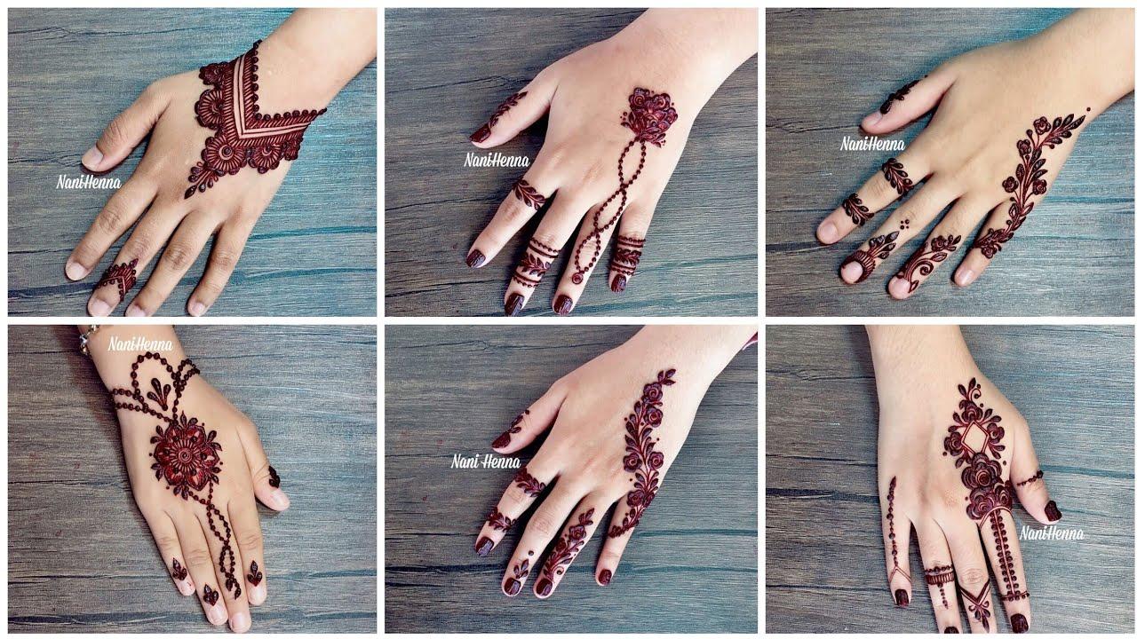 Latest Mehndi Designs Images 2019 For Back Hands Trendy Henna Designs For Women Youtube