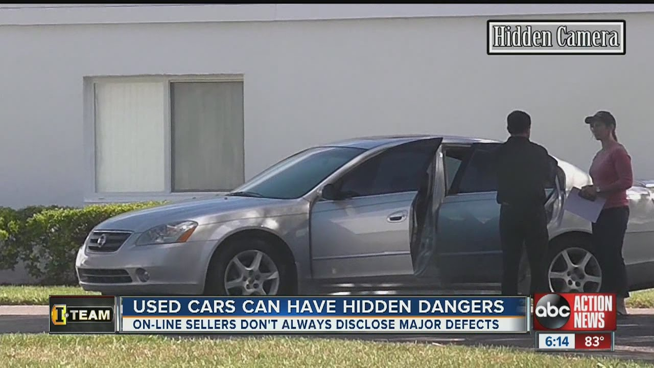 Undercover cameras reveal used cars for sale are literally wrecks on ...