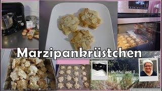 Marzipankrüstchen, saftige Marzipanplätzchen