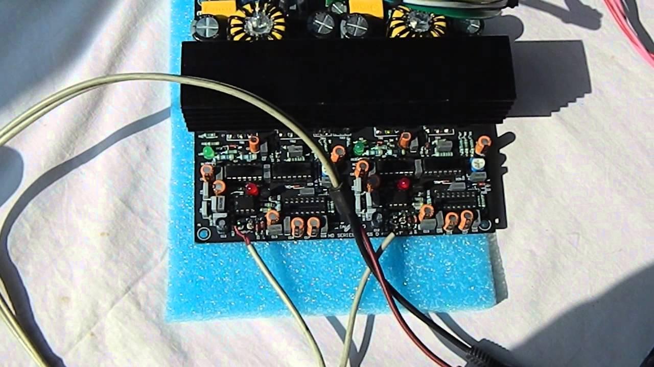 Class d amplifier kit 2500w 2ohm