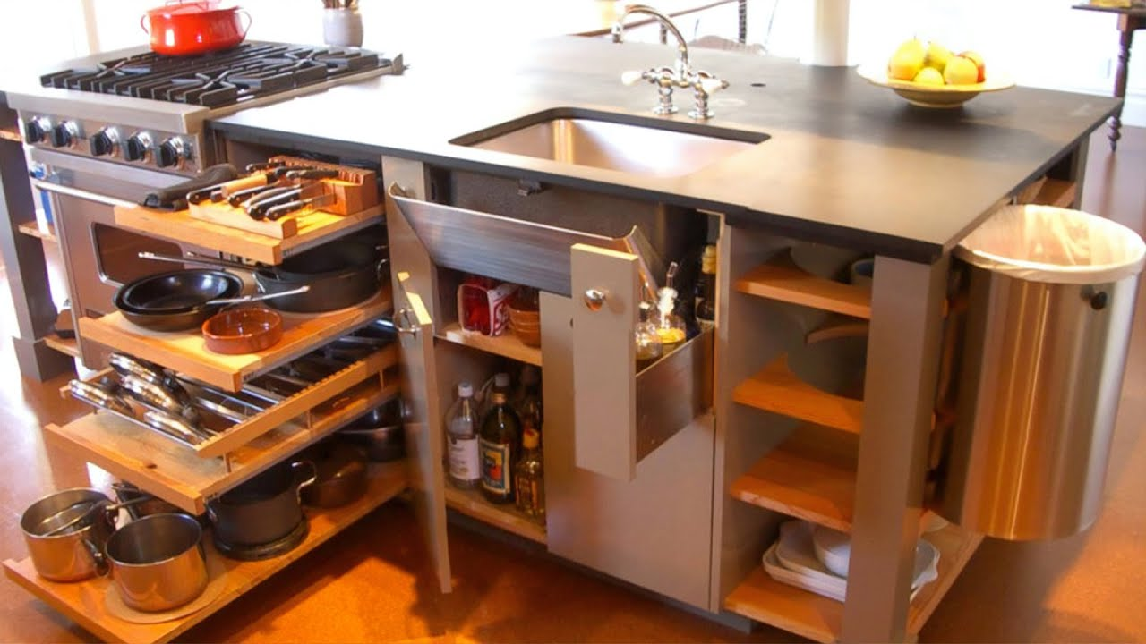 Fantastic Space Saving Kitchen Ideas And Kitchen Designs Smart Kitchen Youtube