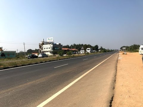 Driving on Banglaore-Mangalore NH75 Highway