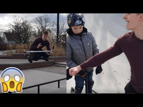 Henrik Palm Vs Kalle Korpela Flat Scoot V4 Impossible