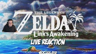 The Legend of Zelda Link's Awakening Reaction - Remake Trailer - Nintendo Switch
