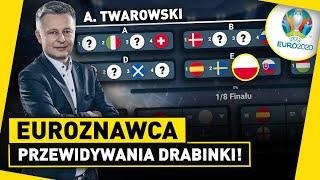 A. Twarowski X EUROZNAWCA: przewidywania DRABINKI EURO 2020