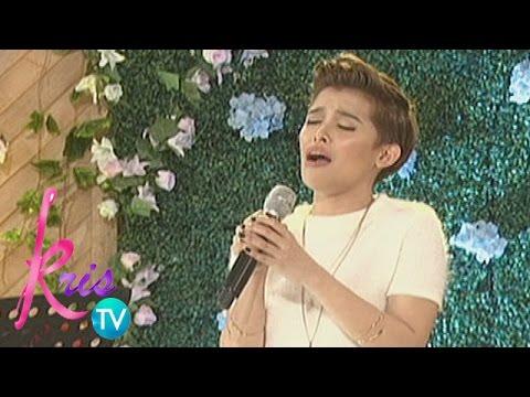Kris TV: KZ performs 'Wag Ka Nang Umiyak'