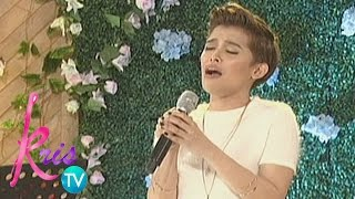 Karla Estrada and Kris Aquino commend KZ Tandingan on singing 'Wag ...