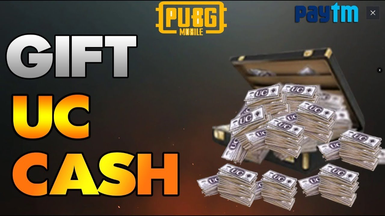 0 1% Know This How to Send or Gift UC Cash in PUBG MOBILE