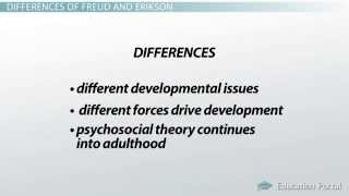 Differences Between Freud and Erikson