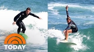 Learning To Surf Off The Beaches In Rio From 2 Of Brazil's Top Pros | TODAY