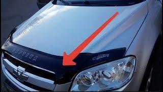 видео Как установить дефлектор на капот ВАЗ