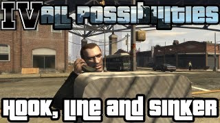 GTA IV - Hook, Line and Sinker (All Possibilities)