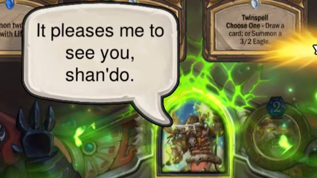 7 Secret Hamuul Runetotem Interactions with Cards and Heroes - Hearthstone