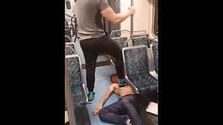 bataie in metrou unde intervine un maestru in ARTE MARTIALE2016!!!