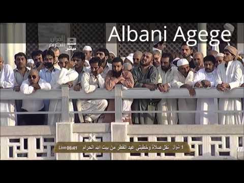 Eid Sermon from the Grand Mosque, By  Sheikh Saleh bin Humaid 2013
