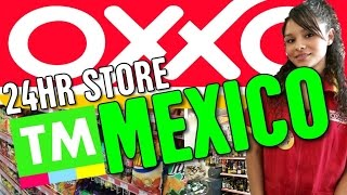 Walk through a Mexican 24hr convenience store | OXXO