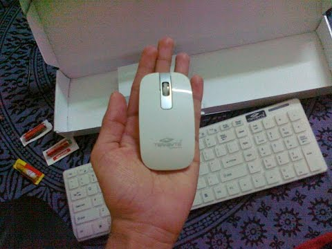 Terabyte Wireless Keyboard And Mouse Combo Unboxing Review & Test
