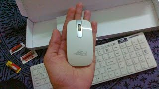 unboxing my new terabyte wireless keyboard mouse review test hd